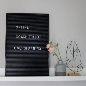 online coachtraject overspanning